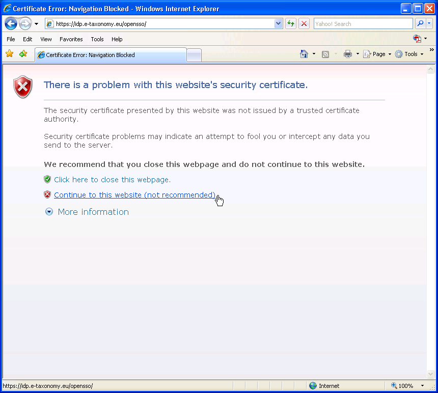 Ieinvalidsecuritycertificate Edit Redmine
